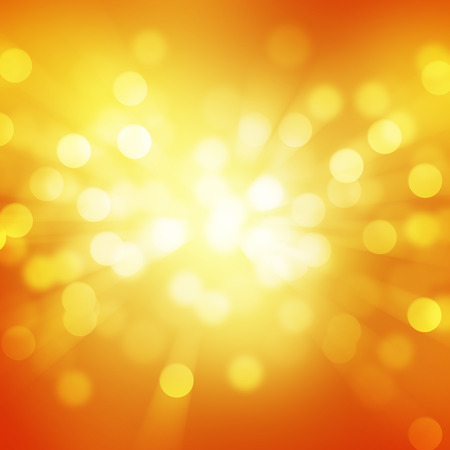 flicker: orange bokeh abstract light backgrounds Stock Photo