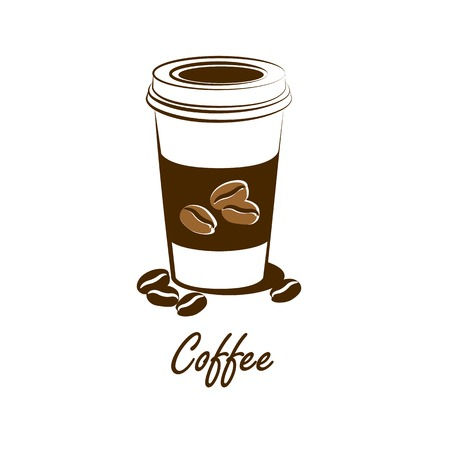 coffee cup vector,illustration Vector