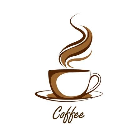 커피 컵 벡터, 그림