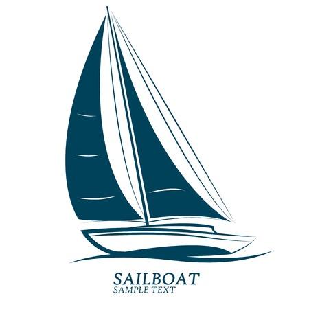 sailboats: sailing boats illustration