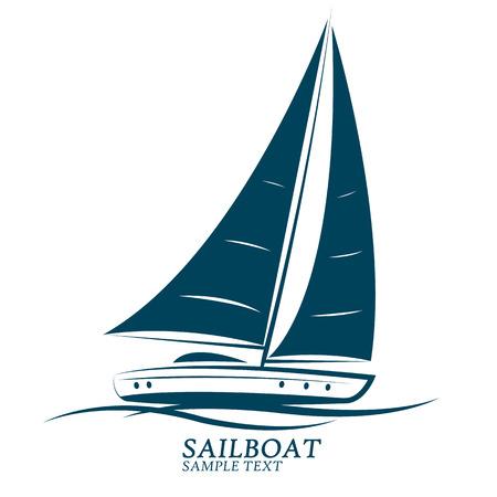 sail boats: sailing boats illustration