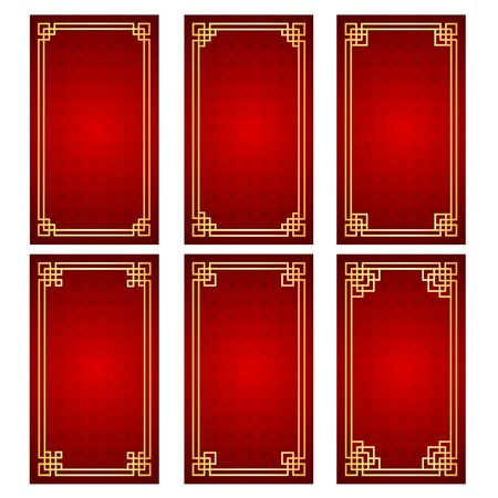 Chinese traditional template on Seamless Pattern Background