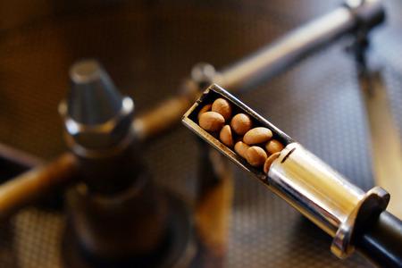 les grains de café