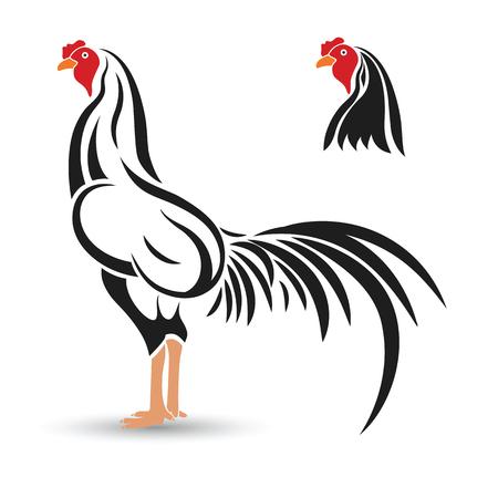 animal cock: Schizzo disegnato gioco-cazzo mano su sfondo bianco, illustrazione vettoriale Vettoriali