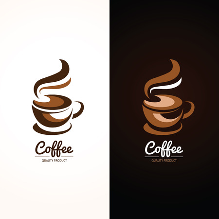 brown design: Coffee cup icon , vector illustration