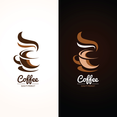 coffee: Coffee cup icon , vector illustration