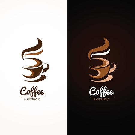 copa: Icono de la taza de café, ilustración vectorial