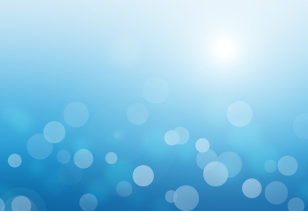 blue light: blue bokeh abstract glow light backgrounds Stock Photo