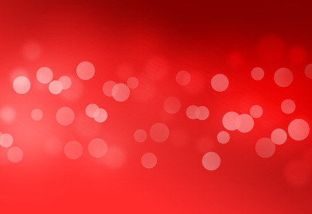 Red bokeh abstract glow light backgrounds Archivio Fotografico