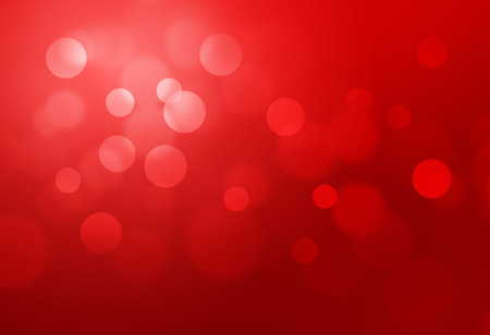 Red bokeh abstract glow light backgrounds Stock Photo