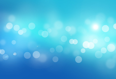 blue bokeh abstract glow light backgrounds 写真素材