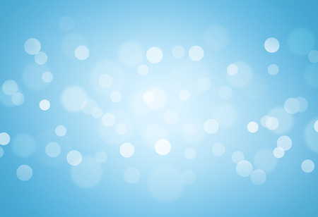 blue christmas background: blue bokeh abstract glow light backgrounds Stock Photo