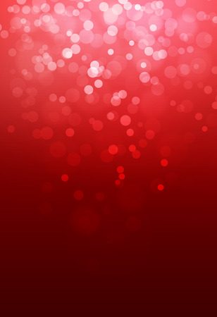christmas flake: Red bokeh abstract glow light backgrounds Stock Photo