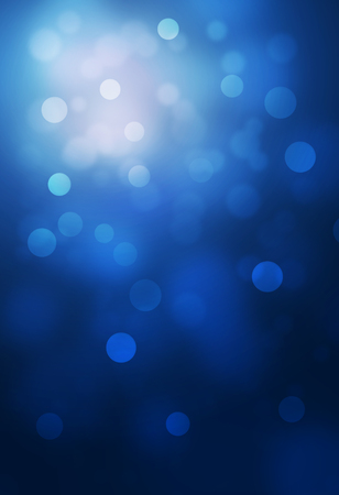 blue bokeh abstract glow light backgrounds Archivio Fotografico