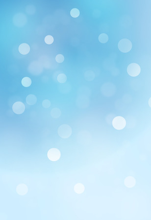 shine background: blue bokeh abstract glow light backgrounds Stock Photo