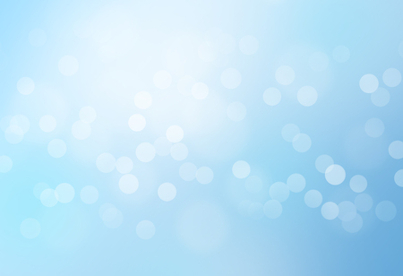shapes background: blue bokeh abstract glow light backgrounds Stock Photo