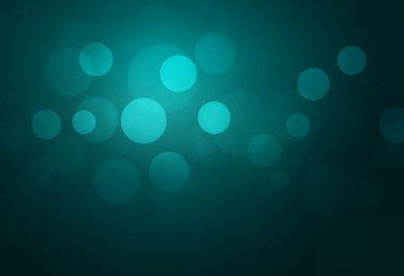 green bokeh abstract light backgrounds Stock Photo