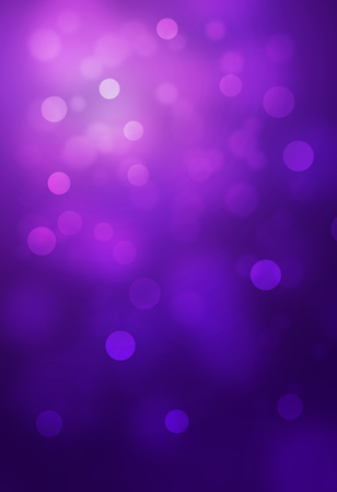 Violet bokeh abstract glow light backgrounds Stock Photo