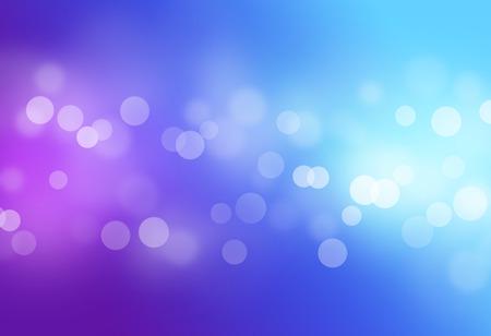 Bleu violet bokeh abstraite de fond clair Banque d'images