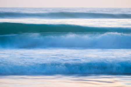 blue waves: blue ocean waves breaking natural background
