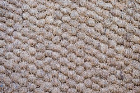 Mat made of coconut fiber,coconut fiber texture background