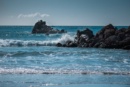 Mount Manganui Beach New Zealand