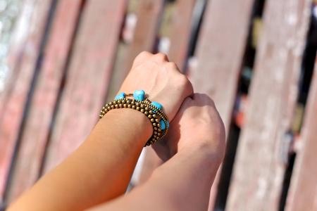 Holding hands couple Zdjęcie Seryjne