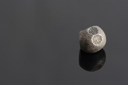 a d: closeup 1400-1800 s A D  old thai money  Ayudhaya period