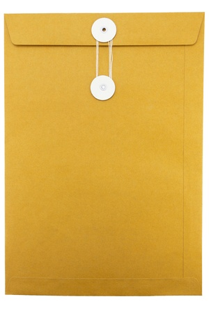 Paper Envelope isolated on white background Stock Photo - 14184851