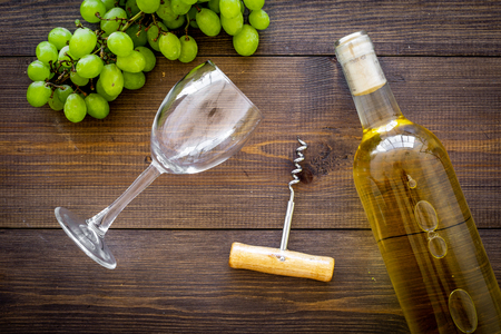 Composition with wine. Stockfoto - 106033037