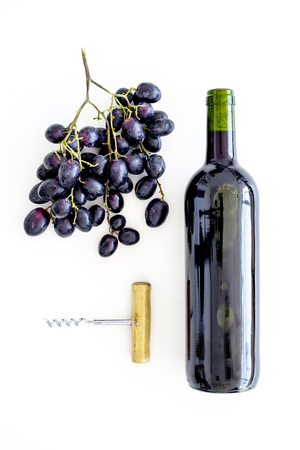 Open the wine concept. Stockfoto