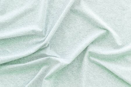 Abstract pattern. Design for blog with mint green fabric texture background top view space for text 版權商用圖片