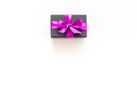 gifts on white background top view mock up Imagens