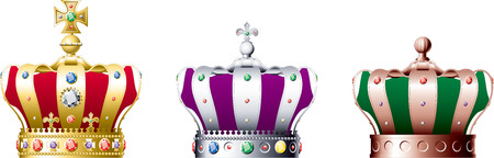 royal family: Crown Illustration