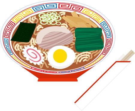 nori: Ramen noodles