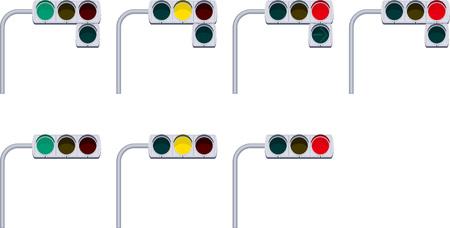 señales trafico: Las señales de tráfico Vectores