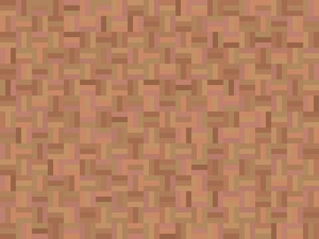 wood flooring: Floor parquet flooring of wood Illustration