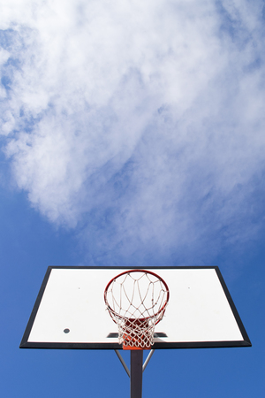 would: Basketball goal