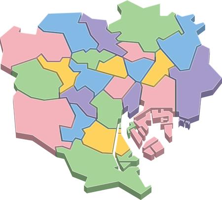 Map of Tokyo 23-Ku