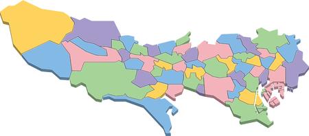 Tokyo map