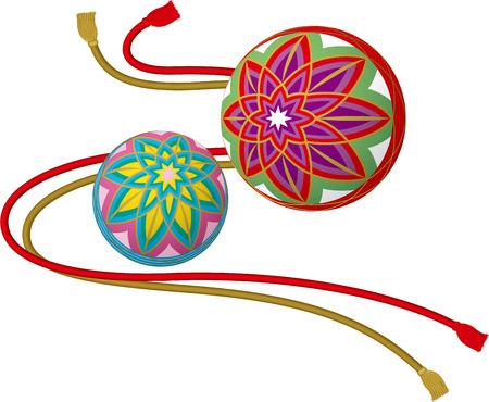 Traditional ball Japan