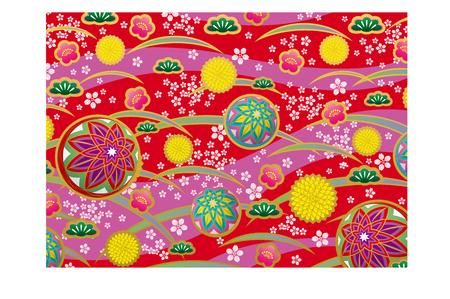 Japanese pattern Ilustracja