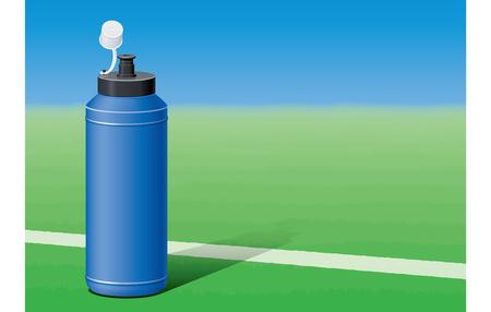 Squeeze bottle Ilustracja