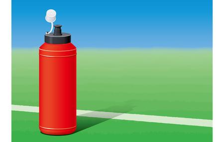 赤のボトルを絞る。 写真素材 - 75403656