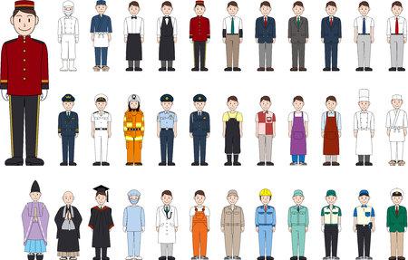 Professionele uniformen