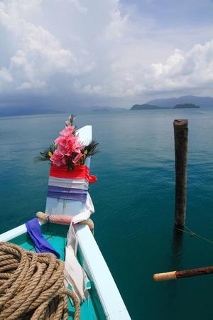 Head section of boat Stok Fotoğraf