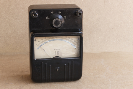 old devices for electrical measurements