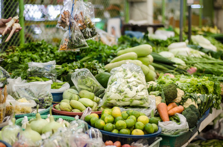 carot: Fruits and vegetables at a farmers market