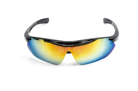sport sunglasses isolated on white