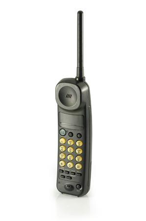 cordless phone: cordless phone isolated on withe background